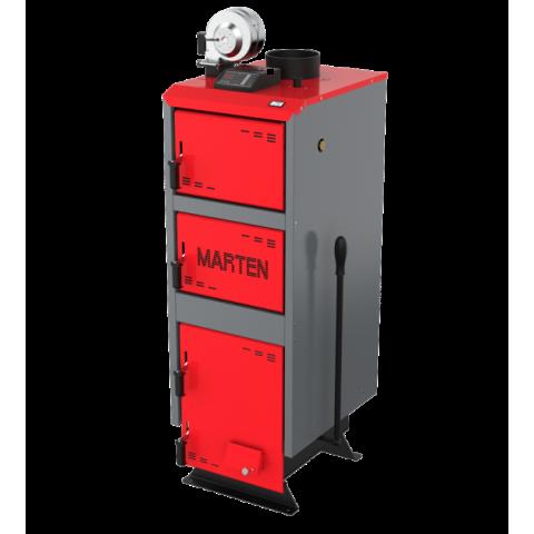Твердотопливный котел Marten Comfort МС-33 с автоматикой