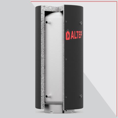 Теплоаккумулятор Альтеп ТА0.7000 л, с изоляцией
