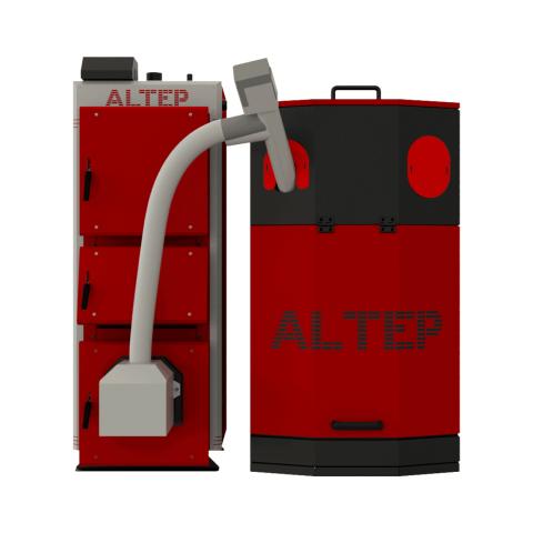Пеллетный котел Альтеп Duo Uni Pellet  40 кВт с автоматической подачей топлива, с водяными колосниками