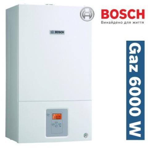 Газовый котел BOSCH WBN 6000-24H RN (турбированный, одноконтурный) 24 кВт