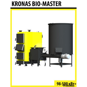 Твердотопливный котел Kronas Bio Master 150 кВт