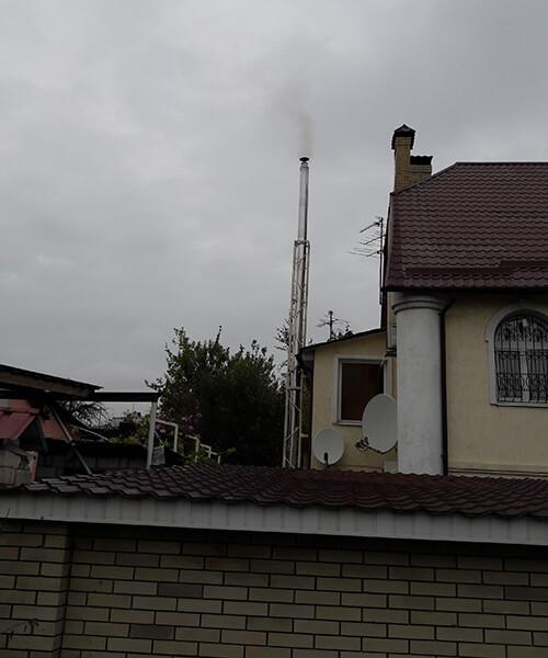 п.г.т. Хорошево - Дом (установка котла)