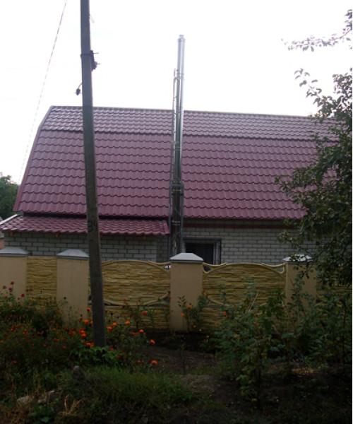 c. Ракитное - Дом (установка котла)
