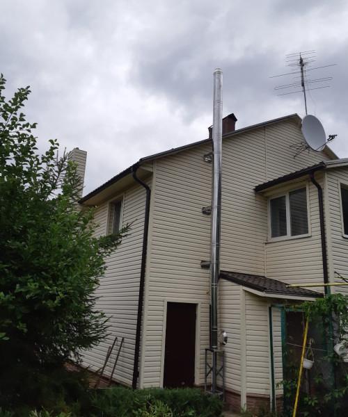 п.г.т. Малая Даниловка - Дом (установка котла)