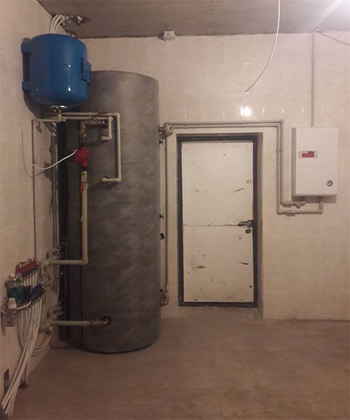 п. Затишье - Дом (монтаж системы отопления) фото №2